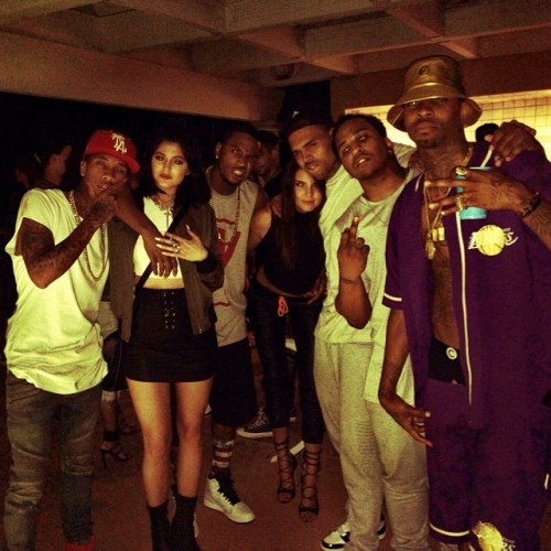 Chris-Brown-Kylie-Kendall-Jenner-House-Party-Instagram