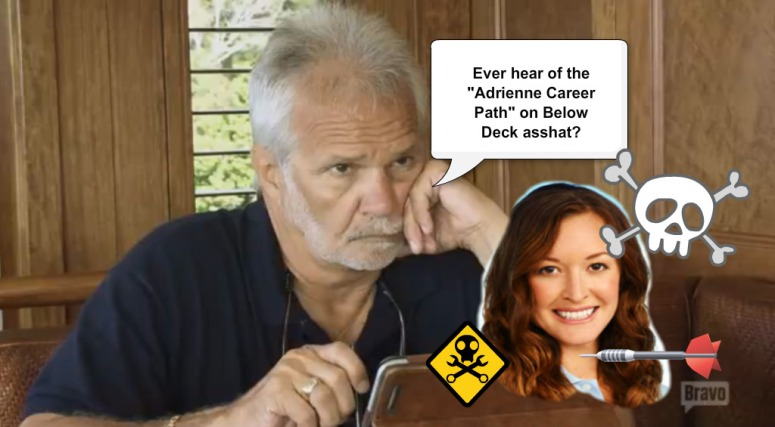 Adrienne career path Below Deck
