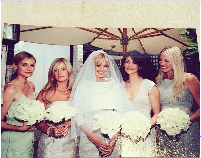 Caroline Stanbury Wedding