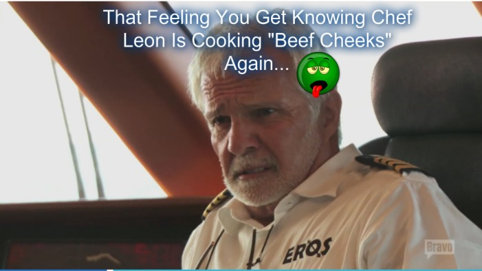 The feeling u get know leon is making cheeks again
